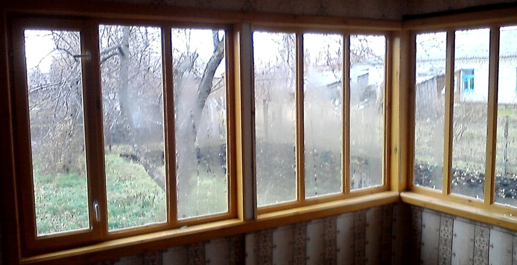 Балконные рамы из дерева мастер древ.
