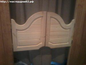Декоративные деревянные дверцы
