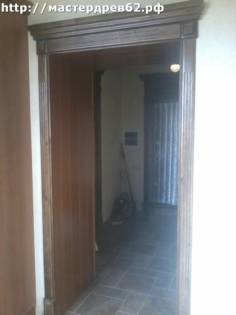 Декоративная отделка дверного проёма