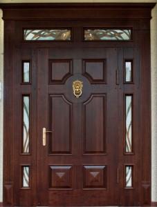 дверной блок с раскладкой (ясень)