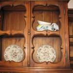 Элемент кухни в русском стиле – шкафчик