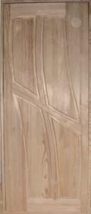 Глухая деревянная дверь, модель № 10