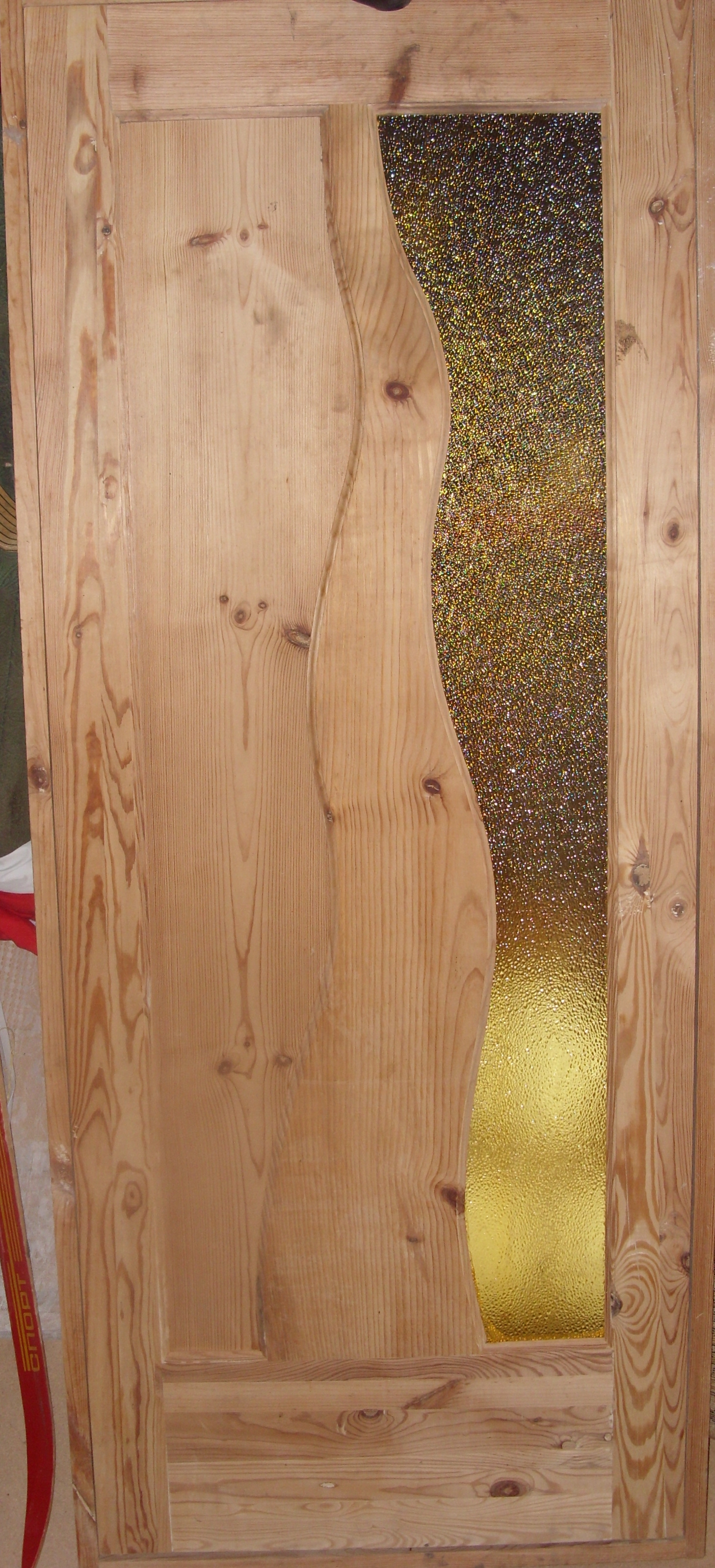 Дверь деревянная, модель № 12, стекло