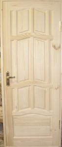 Дверь деревянная, модель № 17, глухая