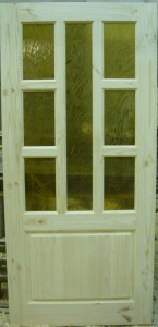 Дверь деревянная, модель № 18, стекло