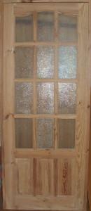Дверь деревянная, модель № 2, стекло