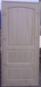 Дверь деревянная, модель № 21, глухая