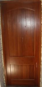 Дверь деревянная дубовая, модель № 22, глухая