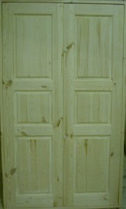 Дверь деревянная, модель № 23, двустворчатая