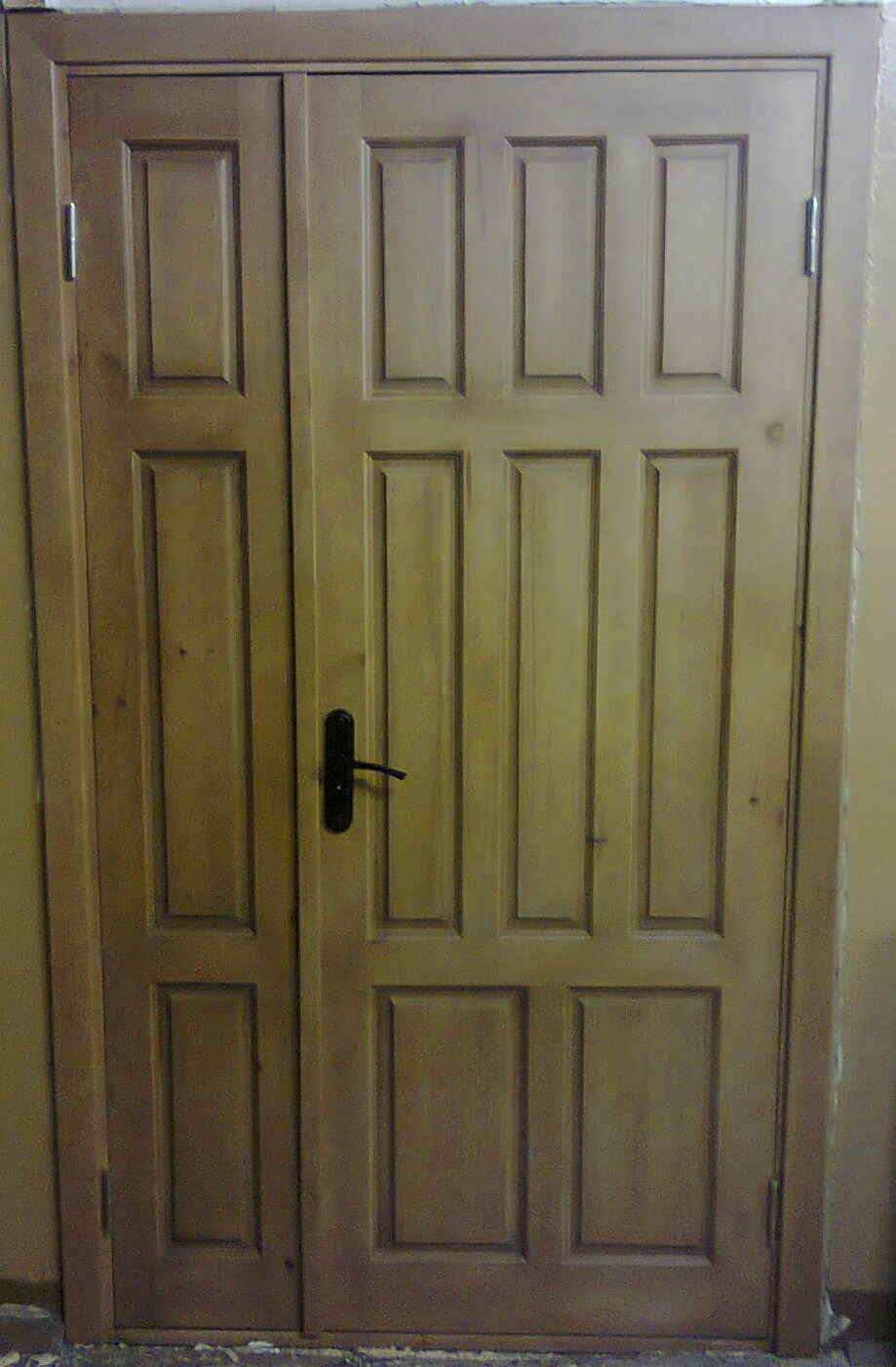 Дверь деревянная, модель № 24, полуторная