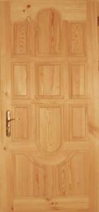 Дверь деревянная, модель № 5, глухая