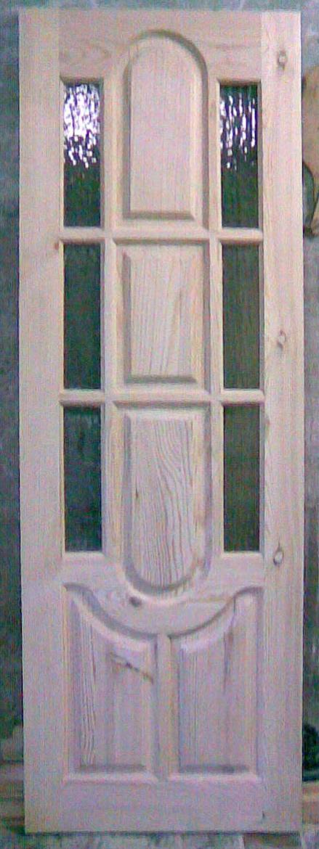 Дверь деревянная, модель №5 стекло