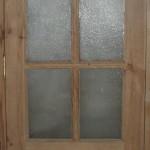 Дверь деревянная, модель №6, остекленная