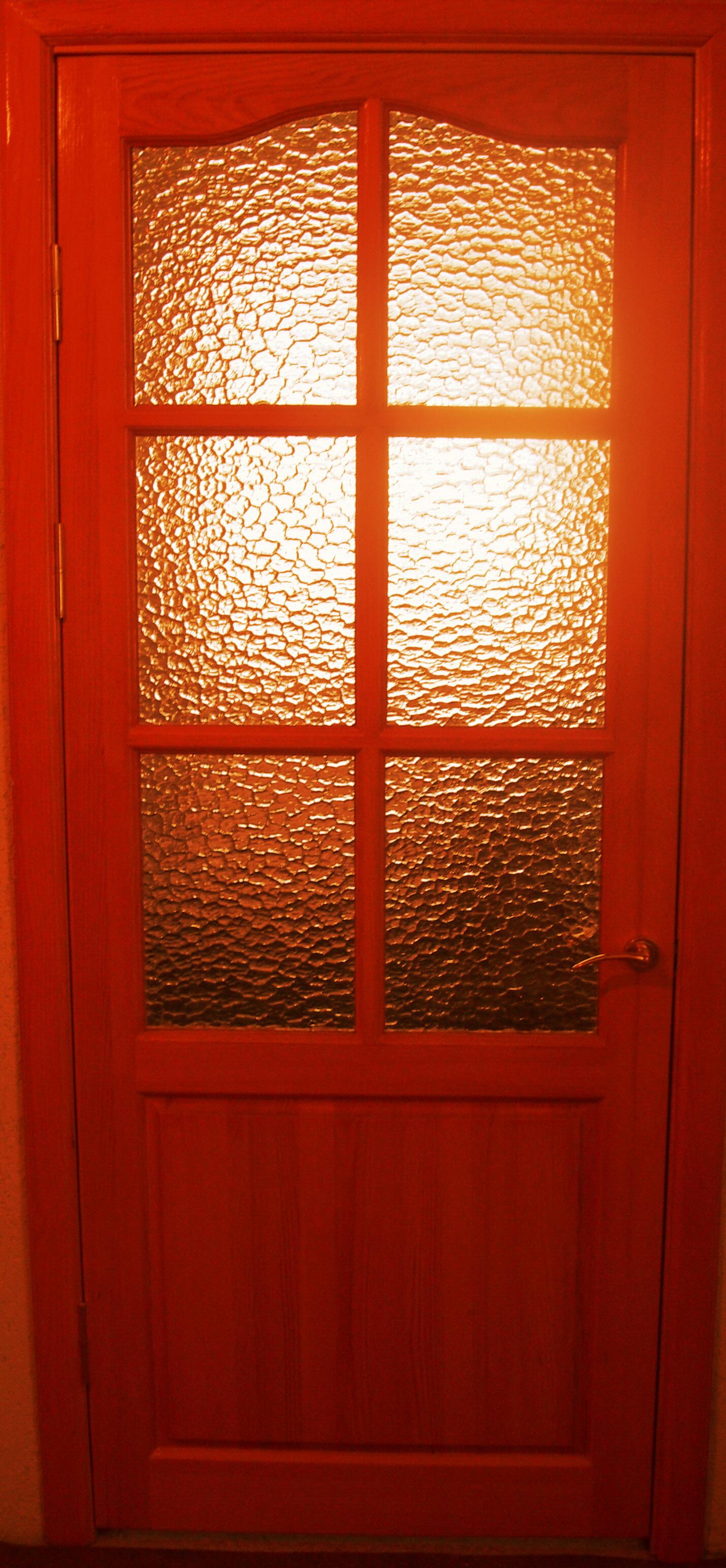 Дверь деревянная, модель №6 стекло