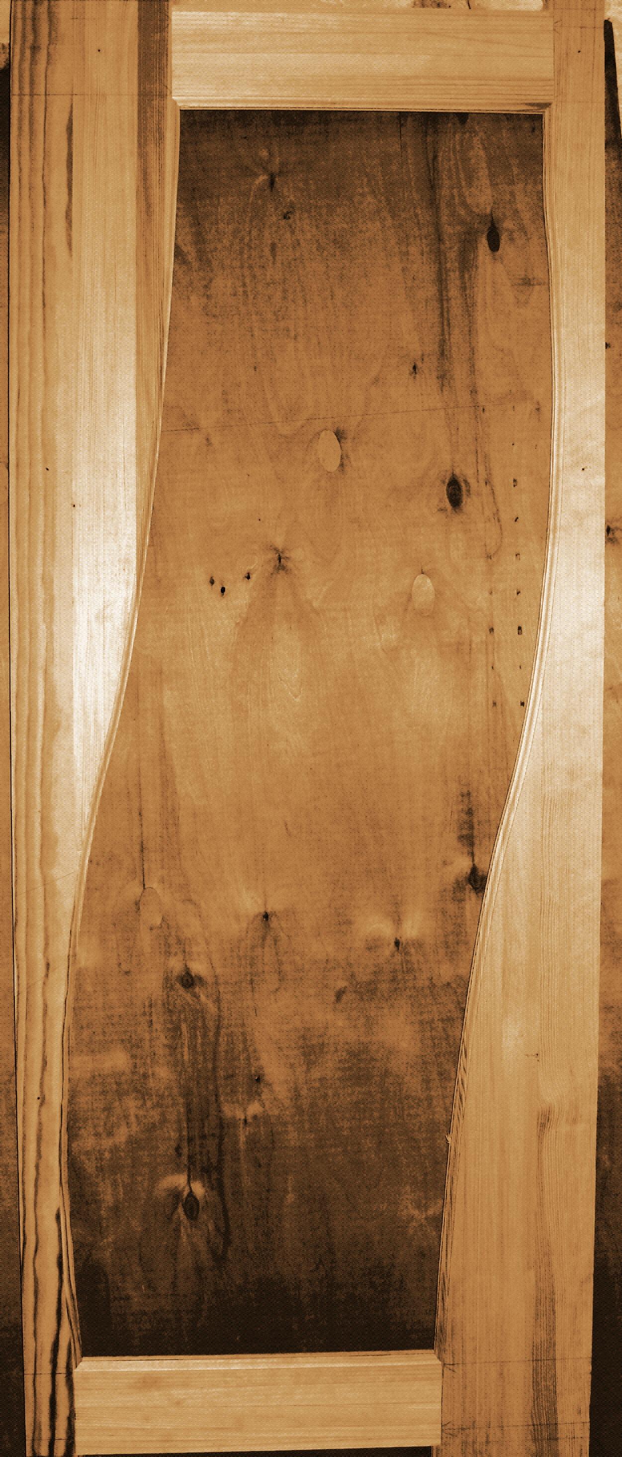 Дверь деревянная модель №8 стекло
