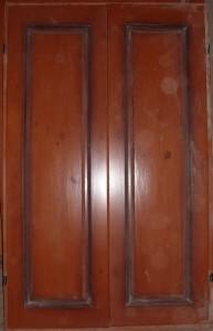 Образец фасада из дерева