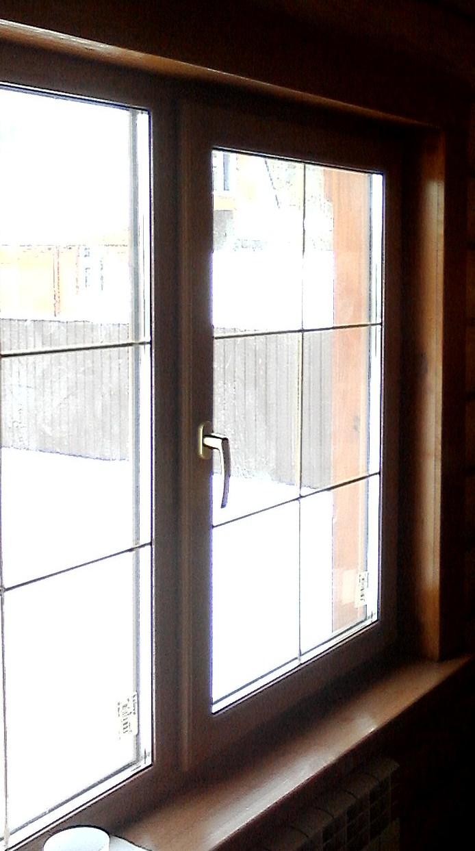 отделка внутренних откосов (евро окно)
