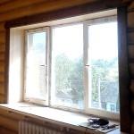отделка внутренних откосов пластиковое окно