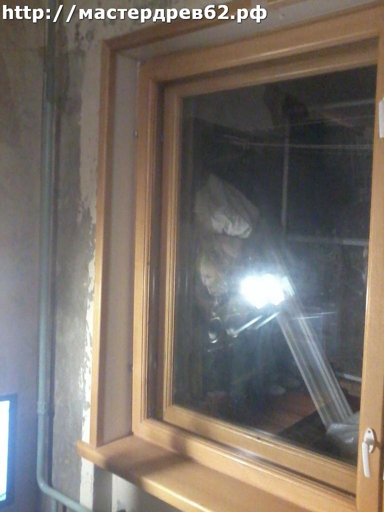 Отделка откосов классические окна