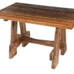 Стол деревянный состаренный