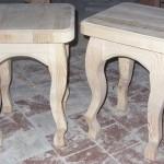 Табурет деревянный без отделки