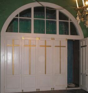 Церковный арочный блок