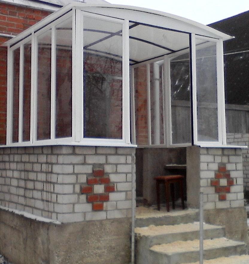 Входная группа (балконные рамы)