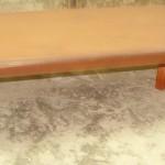Деревянный восточный столик
